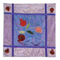 Blue Pomegranate Pillow Case