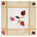 Pomegranate Gold Square Table Cloth
