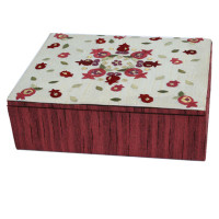 Emanuel Embroidered Jewelry Box