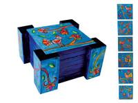Emanuel Set of Six Wooden Coasters
