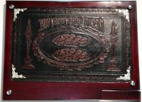 Leather Challah Tray