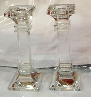 Crystal Square Candle Sticks