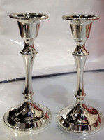 """Silver plate 5"""" Candle Sticks"""