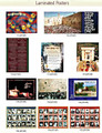 Laminated Posters for Sukkah -10 Posters