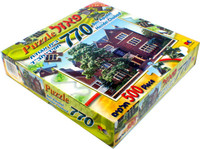 770 Beis Agudat Hasidei Chabad 500 pc Puzzle (GM-P0840)