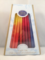 Sefad - Decorative MultiColored Israeli Chanukah Candles