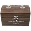 Leather-look Esrog Box (ES-50835)