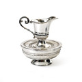 Silverplate Mayim Achronim Set - Stripes