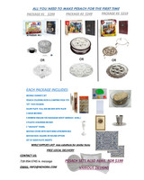 "All You Need to make Pesach for the first Time All Packages Include:  Bediks Chometz set Pesach coloring book and jumping frog toy מכור לגוי stickers Silver Plate full size becher with plate 2 shiur bechers 3 Hebrew English P/B Haggadah  (Edot Mizrach available)bag 3 plastic children bechers 1 ""Urchatz""towel Matzah cover with matching Afikoman  Matzah box: square or round option Set of seder plates inserts"