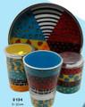 Hadarya Hand Painted 4 pc. Havdalah Set - Colorful