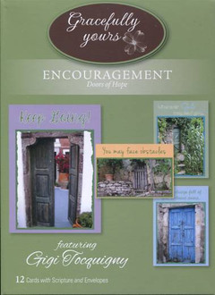 Doors of Hope - Christian encouragement cards