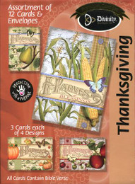 Harvest Blessings - Boxed Thanksgiving Cards