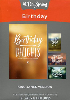 DaySpring Boxed Birthday Cards