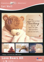 christian get well cards boxed religious get well soon cards