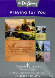 Praying for You Cards from DaySpring by Thomas Kinkade