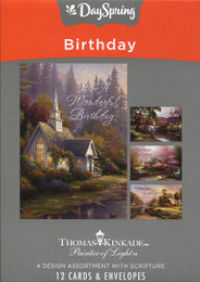 Dayspring Birthday Cards - Thomas Kinkade