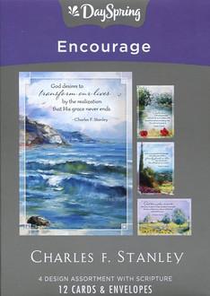 Charles Stanley - Dayspring Encouragement Cards