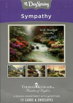 Thomas Kinkade sympathy cards