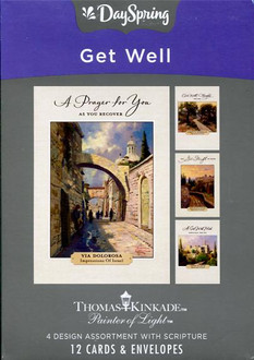 Inspirational get well cards by Thomas Kinkade