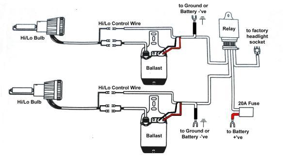 on hid wiring diagram without relay