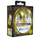 Philips H7 55w ColorVision Yellow Car Headlight Bulbs (Twin Pack)