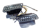 LED Daytime Running Lights (DRL) Compact Style DRLs (E-mark Road Legal)