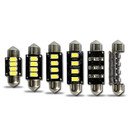 Canbus 31mm 269 4* 5630 SMD Festoon LED Bulbs (2 LED)