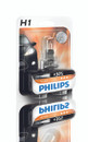 Philips H1 Vision 12V 55W Car Headlight Bulb upto +30% more light