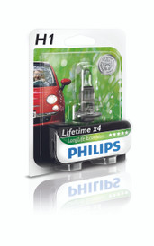 Philips H1 LongLife EcoVision 12V 55W Car Headlight Bulb
