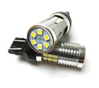 580 W21/5W Canbus 3030 Chip LED Bulbs (Pair) White