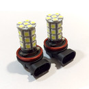 H11 27* SMD LED Canbus Foglamp Bulbs - White (HD3982)