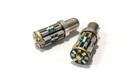 380 P21/5W 12* Samsung 3623 Gold Canbus LEDs - 5000K White