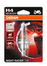 Osram H4 Night Racer Plus 12v 60/55w Motorbike bulb +110% more light (Single) (64193NR1-01B)