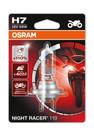 Osram H7 55w Night Racer Plus 110% Motorbike bulb (Single) (64210NR1-01B)