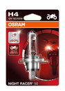 Osram H4 60/55w Night Racer +50% Motorbike bulb (Single) (64193NR5-01B)