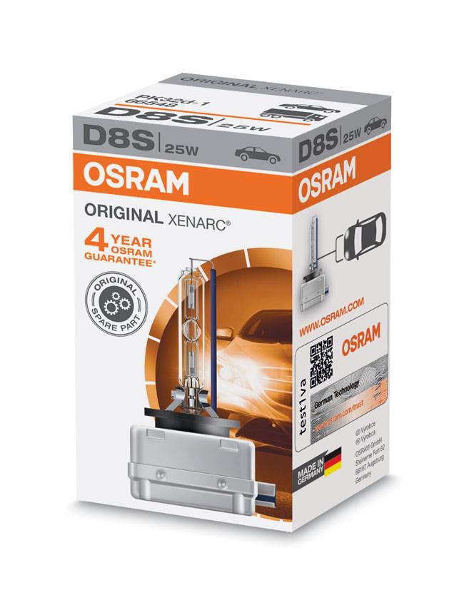 osram xenarc d8s 25w hid xenon bulb 66548 hids direct. Black Bedroom Furniture Sets. Home Design Ideas