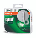 Osram Xenarc Ultra Life 10 YR Guarantee D2S Xenon Bulbs - Twin Pack (66240ULT-HCB)