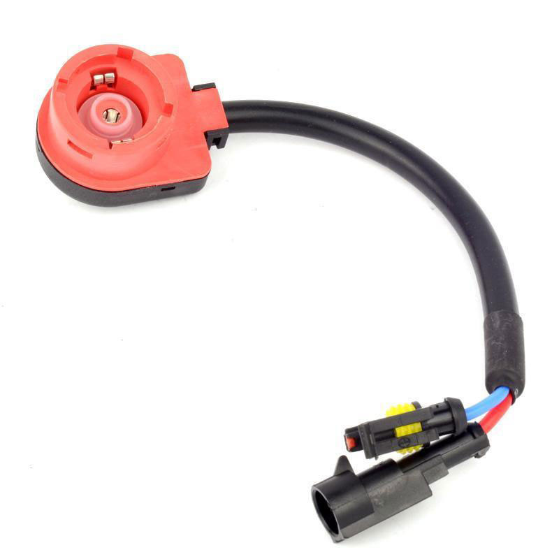 SUBALIGU 2pcs D2S D2R D2C Xenon HID Bulb//Kit Socket AMP Wire Cable Plug Adapter Connector Harness Easy Plug and Play for Replacement Ballast Application or Retrofit Project Headlight or Fog Lamp