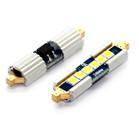 239 39mm Festoon 6* Samsung 3030 Gold Canbus LED - 5000K White