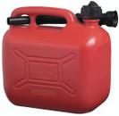 Petrol Fuel Can - Red Plastic - 5 Litre