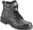 Leather 6in. Safety Boots S3 - Black - UK 6
