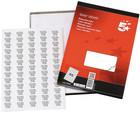 Laser Address Labels - 38 x 21mm - Pack of 6500