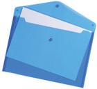 A4 Envelope Wallets - Blue - Pack of 5