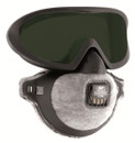 FMP2 FilterSpec Pro Goggles GW5 & Disposable Mask - Odour Valved