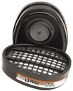 Force 8/10 AB1P2 Dust & Vapour Filter Cartridges - Pack of 2