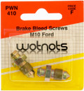 Bleed Screws - M10 x 1 Pitch - Pack Of 2