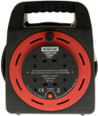4 Way Cassette Cable Reel - Red - 15m