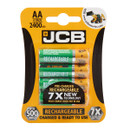 Rechargeable AA Batteries - 2400mAh - Pack of 4