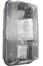 Rectangular Bulkhead Light - Black - 100W