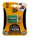 Rechargeable 9V Battery - 200mAh